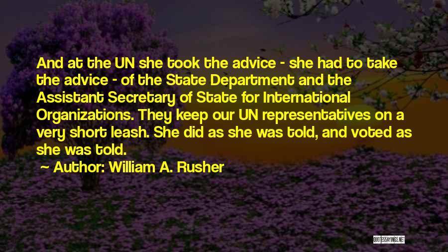 William A. Rusher Quotes 258107