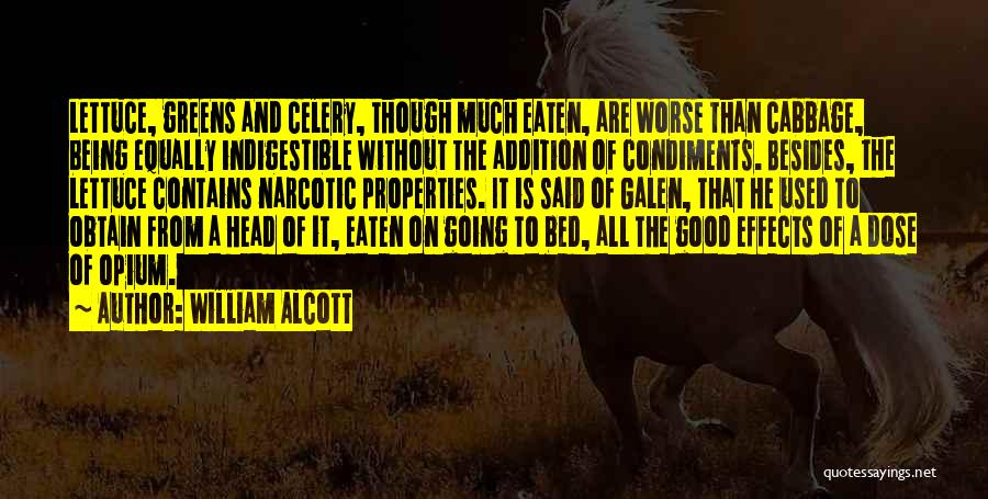 William Alcott Quotes 961207