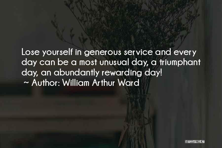 William Arthur Ward Quotes 1133241