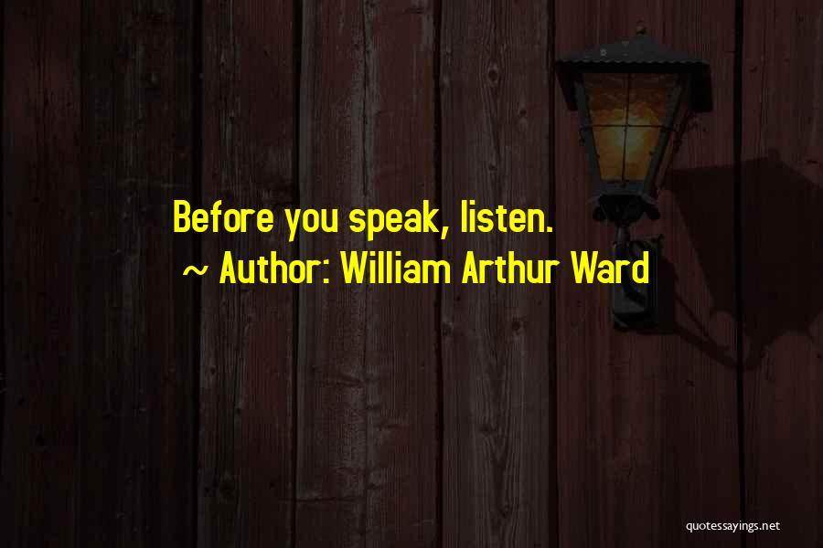 William Arthur Ward Quotes 1679156
