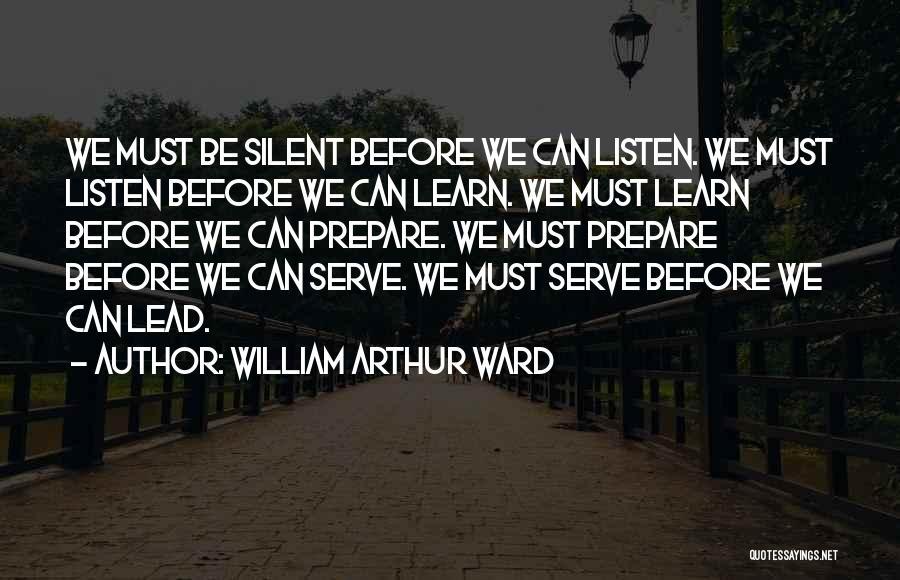 William Arthur Ward Quotes 1679321