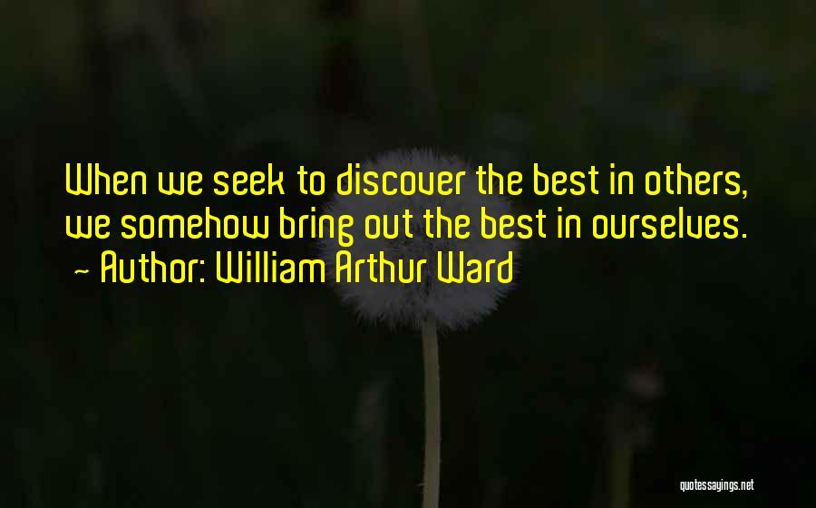 William Arthur Ward Quotes 2033310