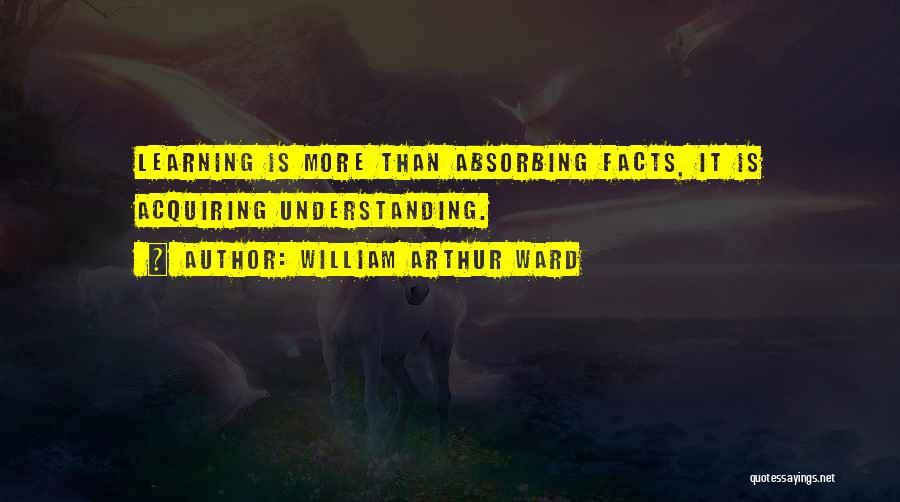 William Arthur Ward Quotes 934232
