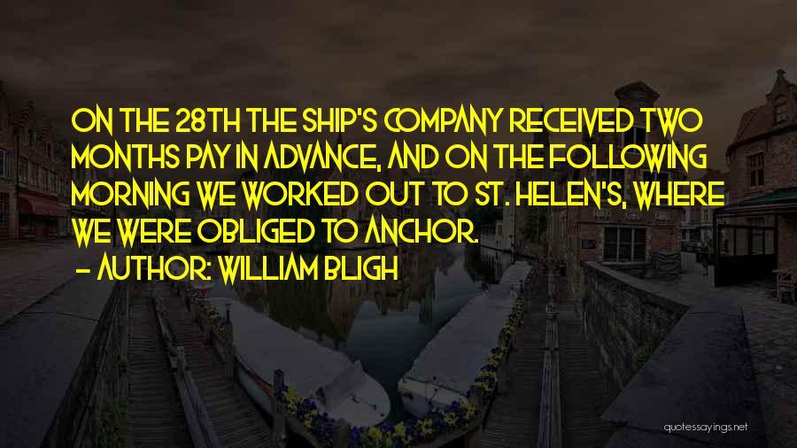 William Bligh Quotes 1357583