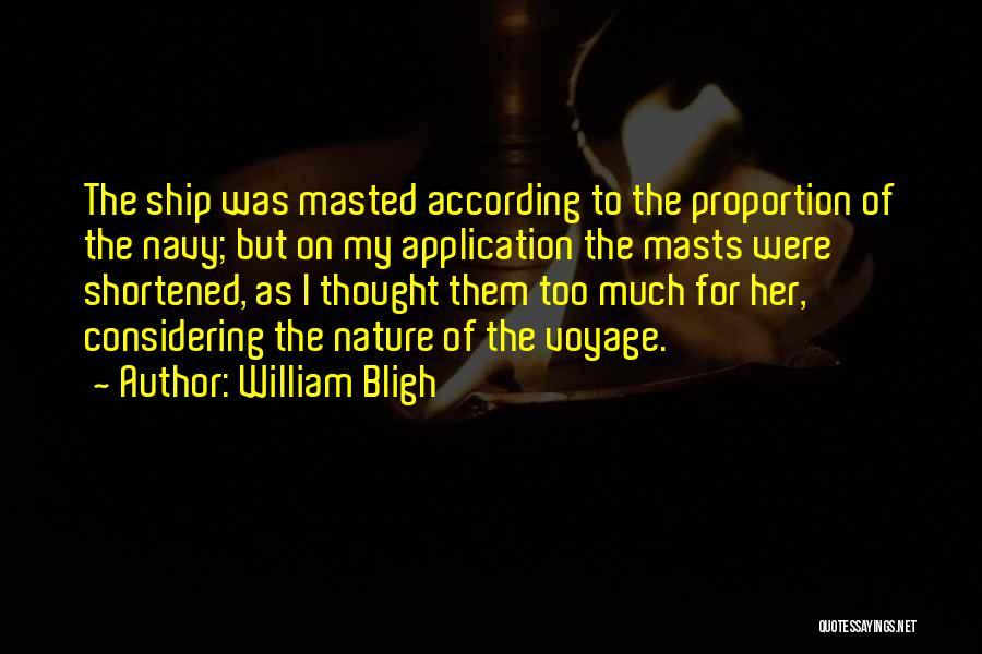 William Bligh Quotes 983229