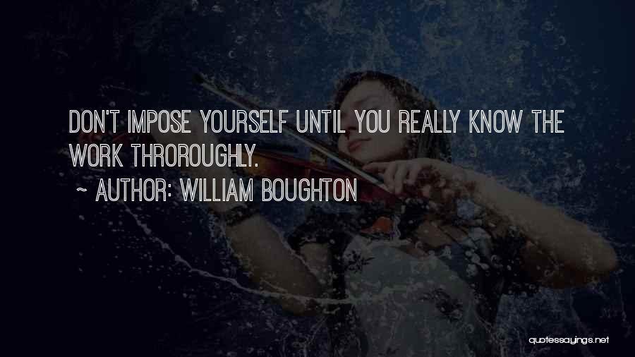 William Boughton Quotes 1712352