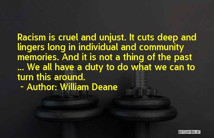 William Deane Quotes 2027523