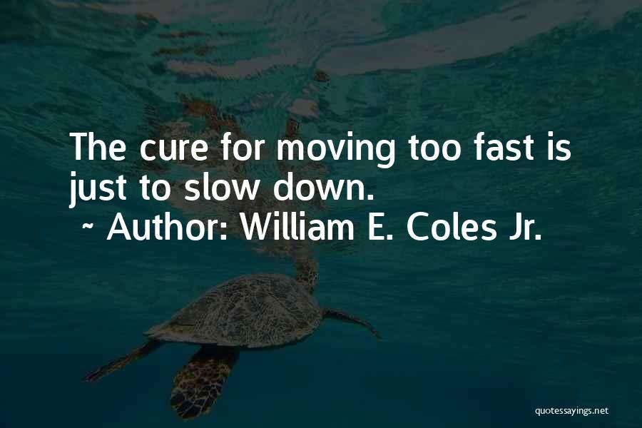 William E. Coles Jr. Quotes 215881