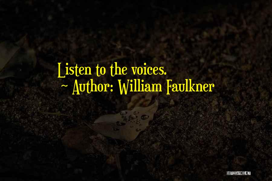 William Faulkner Quotes 163833