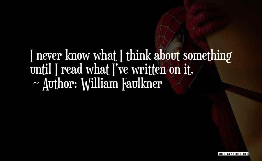 William Faulkner Quotes 2223528