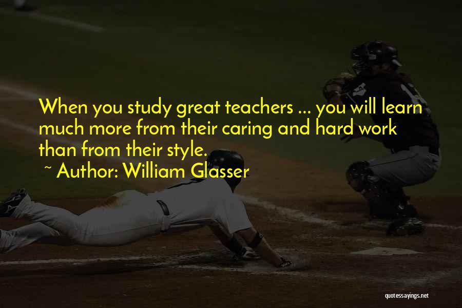 William Glasser We Learn Quotes By William Glasser