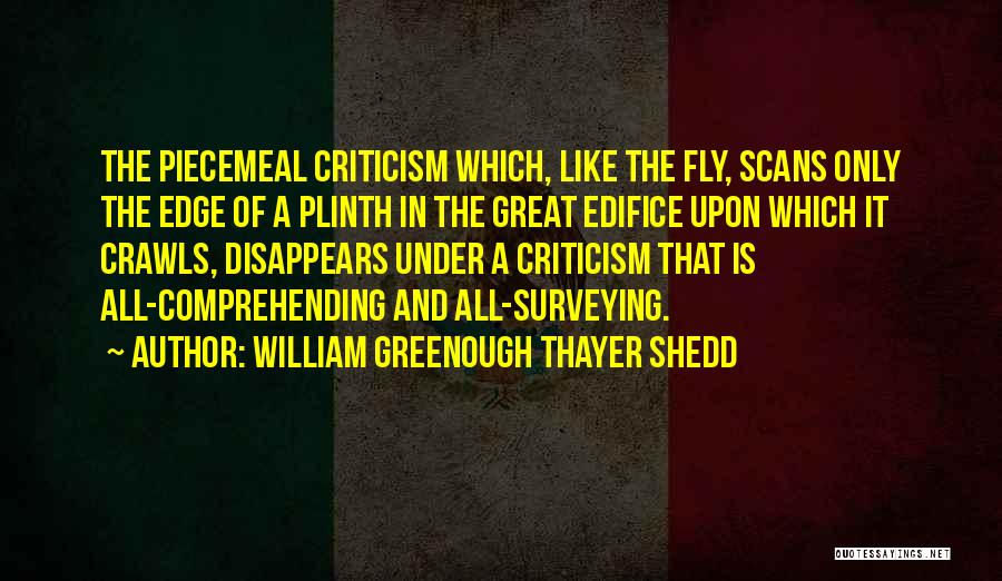 William Greenough Thayer Shedd Quotes 1117551