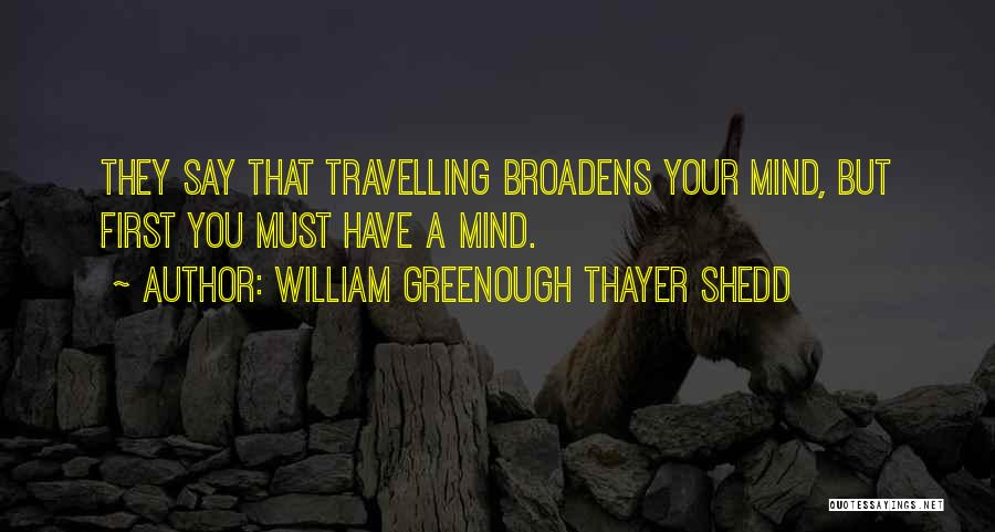 William Greenough Thayer Shedd Quotes 1146017