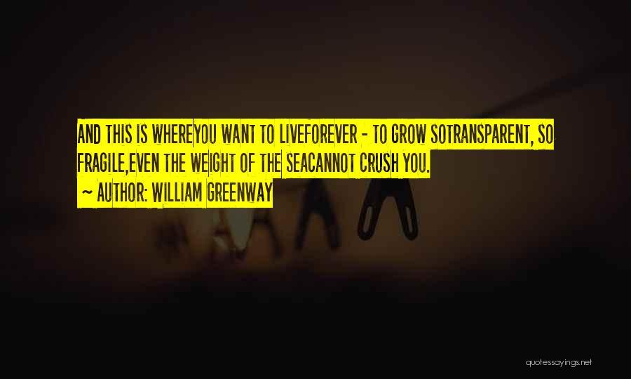 William Greenway Quotes 1385200