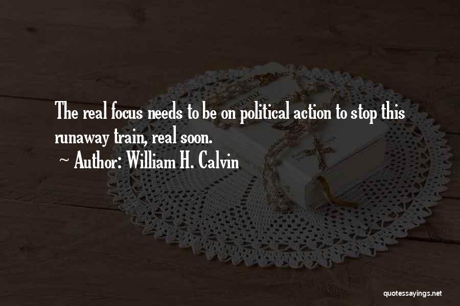 William H. Calvin Quotes 1386262