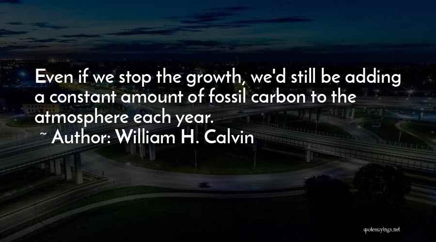 William H. Calvin Quotes 282890