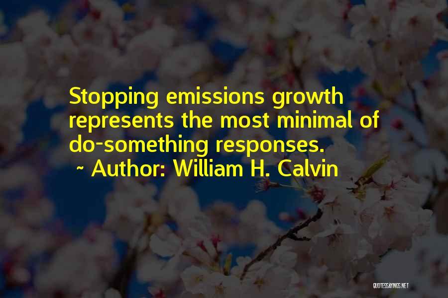 William H. Calvin Quotes 756323