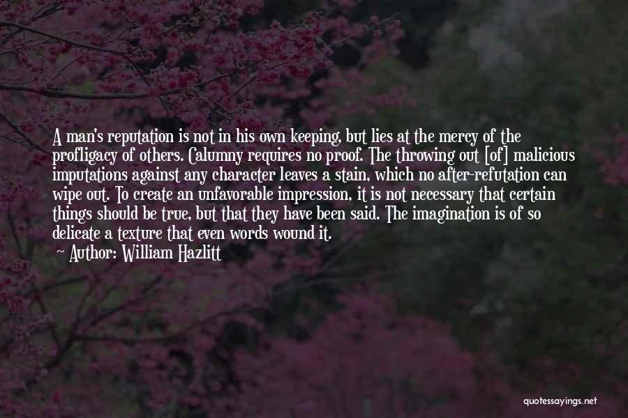 William Hazlitt Quotes 1193243