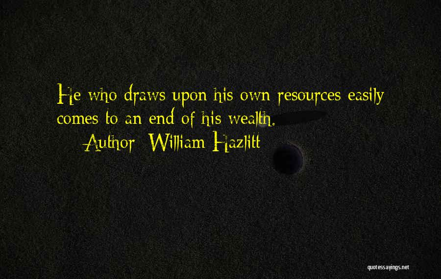 William Hazlitt Quotes 1313816