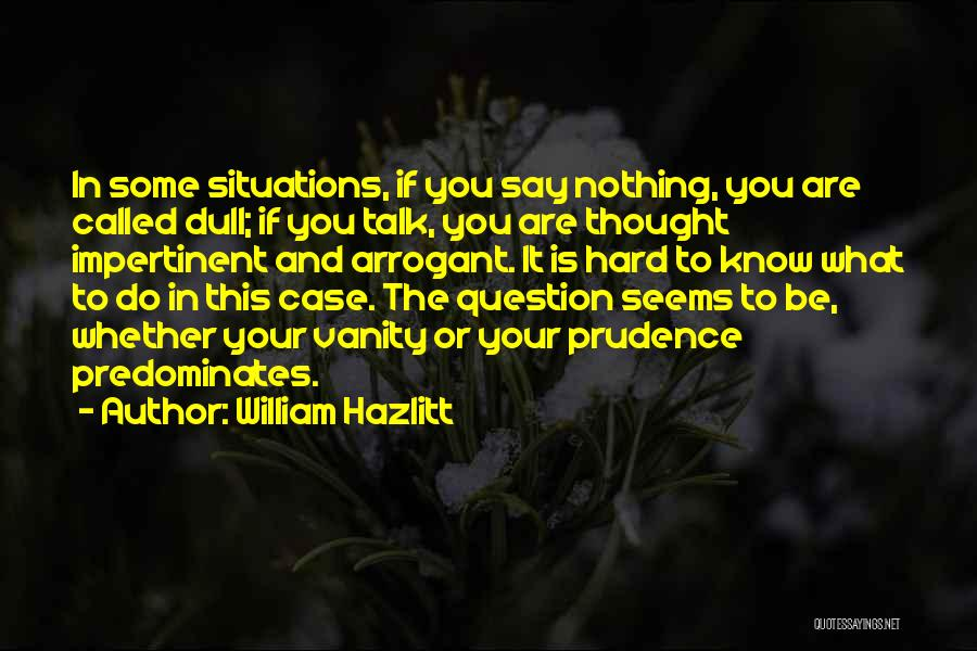 William Hazlitt Quotes 1337870