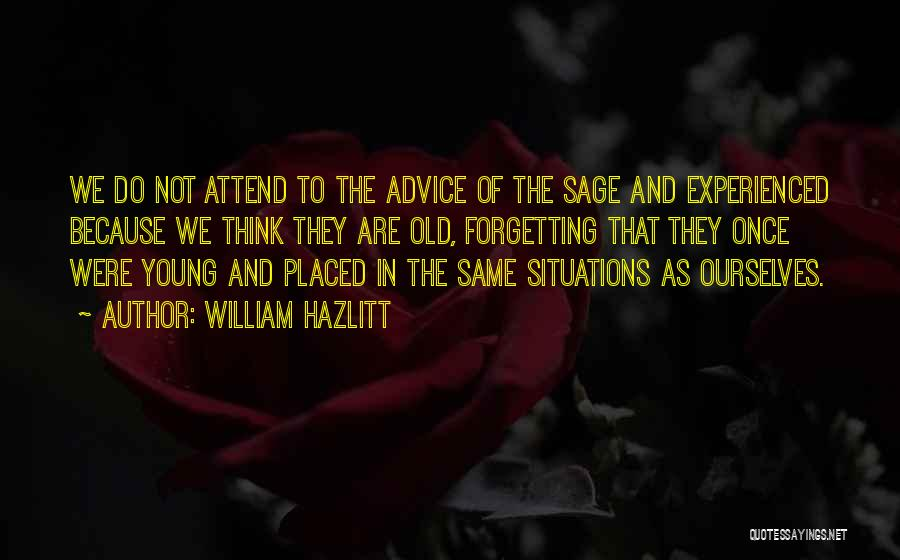 William Hazlitt Quotes 1398232