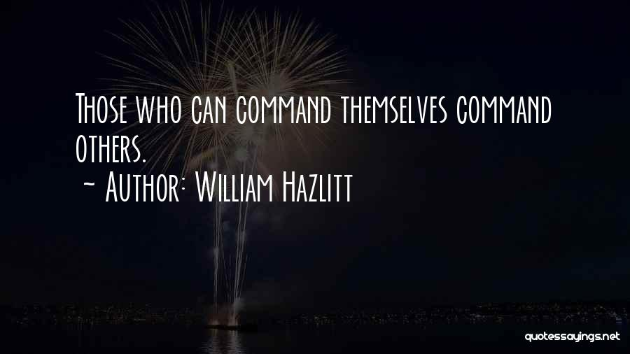 William Hazlitt Quotes 1464119