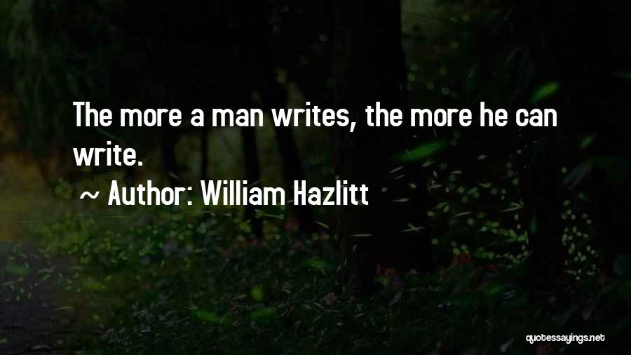 William Hazlitt Quotes 1532635