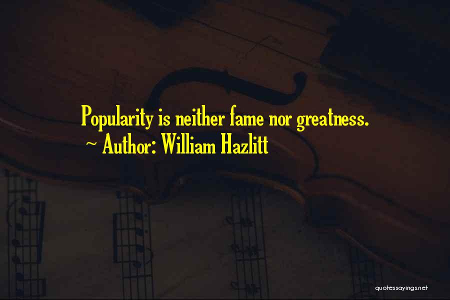 William Hazlitt Quotes 1545240