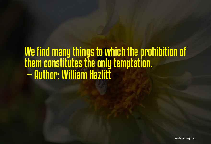 William Hazlitt Quotes 1798958