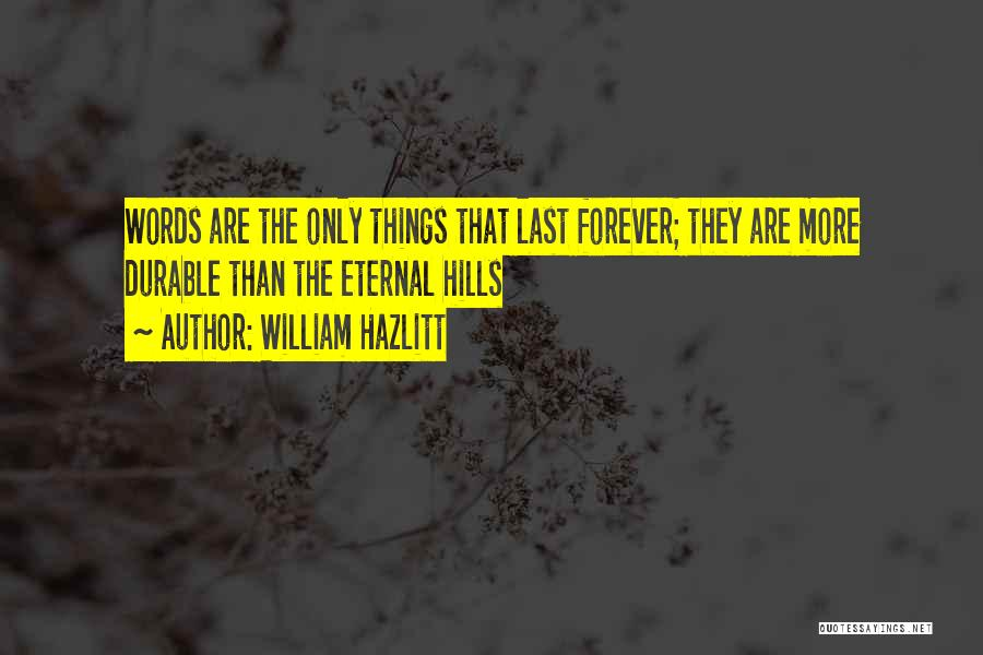 William Hazlitt Quotes 206912