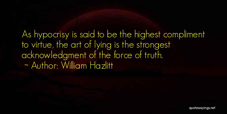 William Hazlitt Quotes 2180686