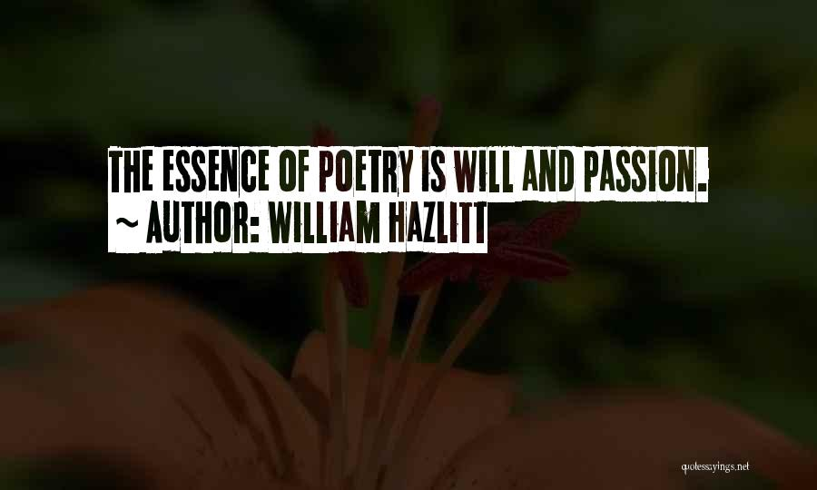 William Hazlitt Quotes 272701