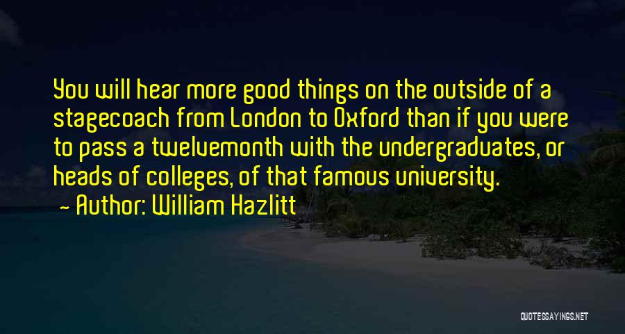 William Hazlitt Quotes 832410