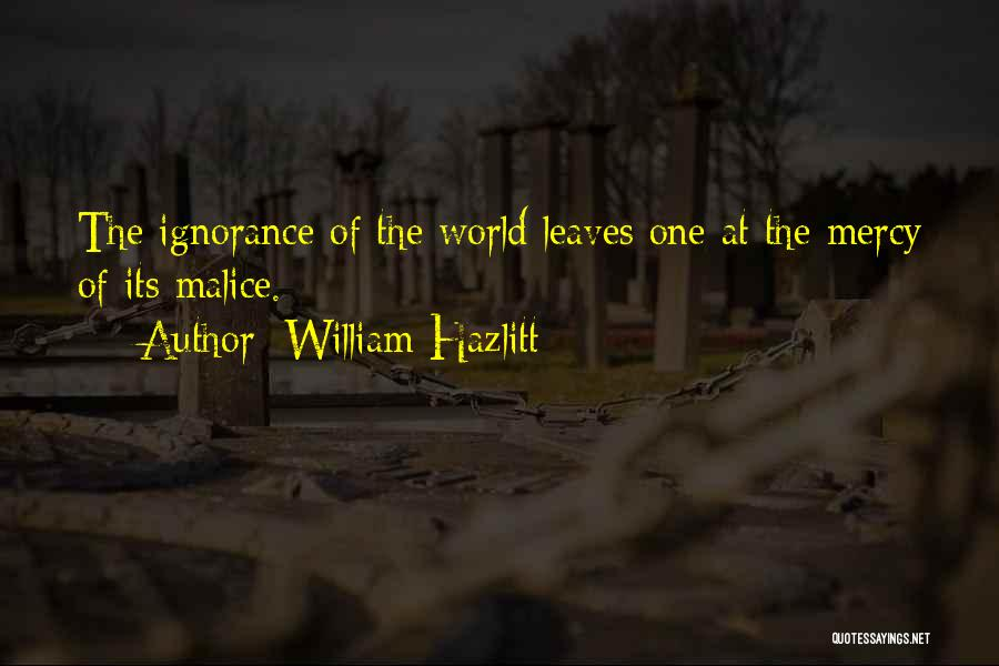William Hazlitt Quotes 97448