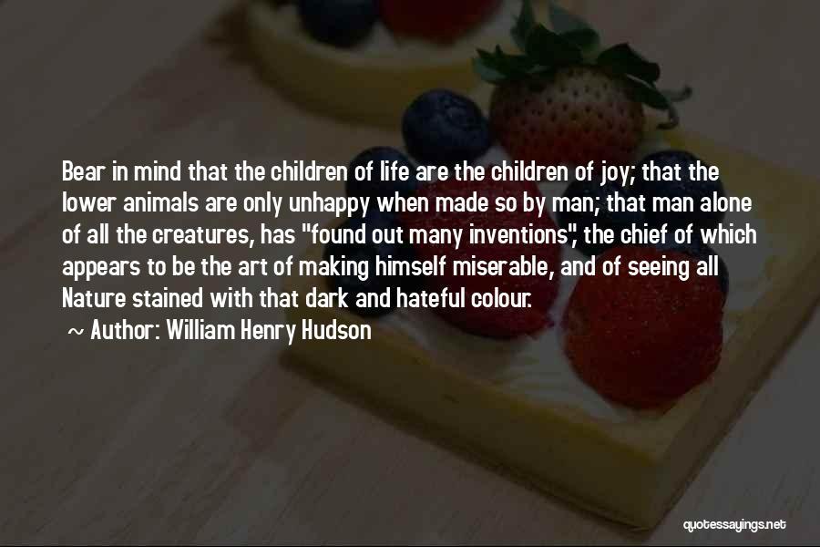 William Henry Hudson Quotes 2215591