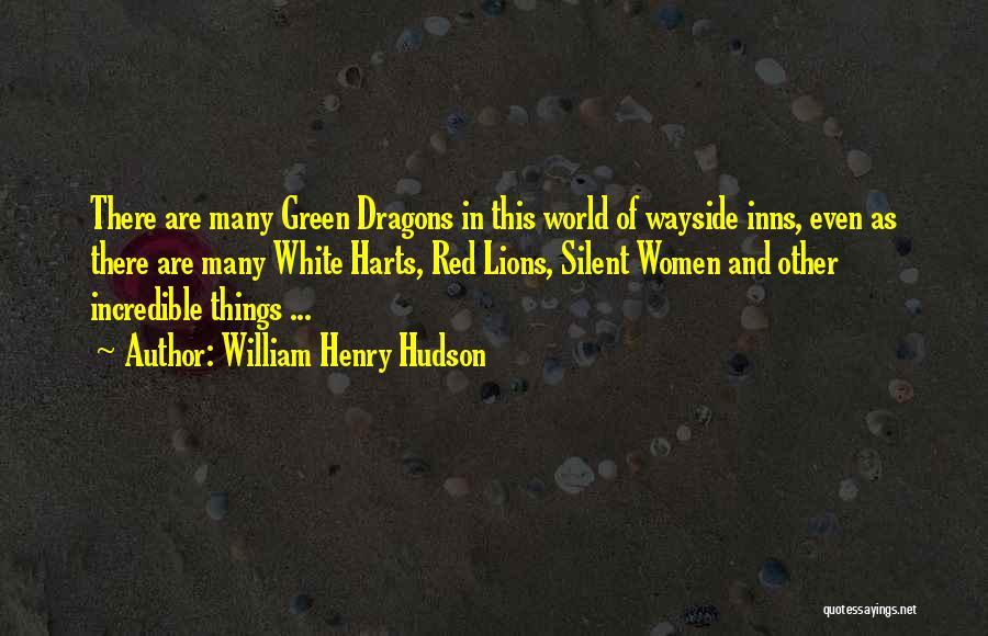 William Henry Hudson Quotes 539610