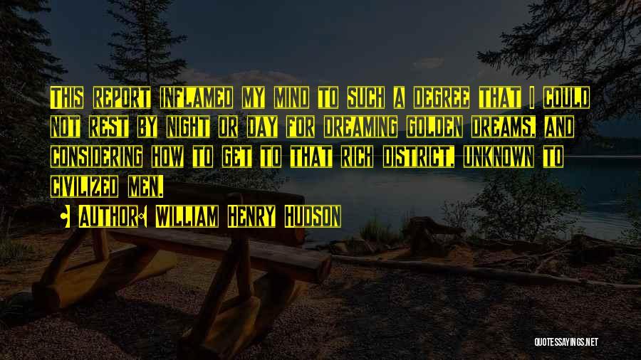 William Henry Hudson Quotes 877850