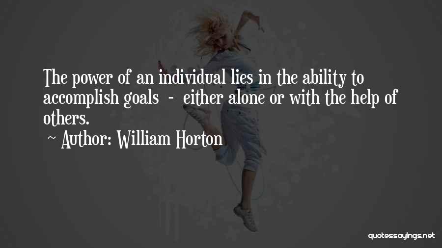 William Horton Quotes 2169682