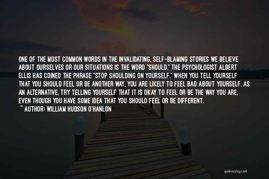 William Hudson O'Hanlon Quotes 1768982