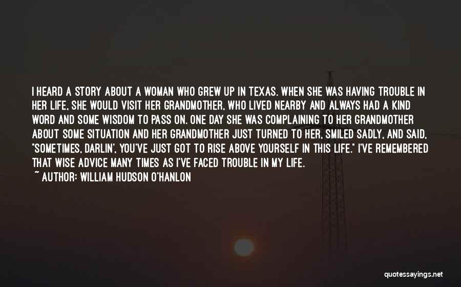 William Hudson O'Hanlon Quotes 2267694