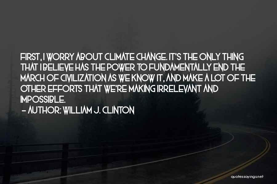 William J. Clinton Quotes 123486