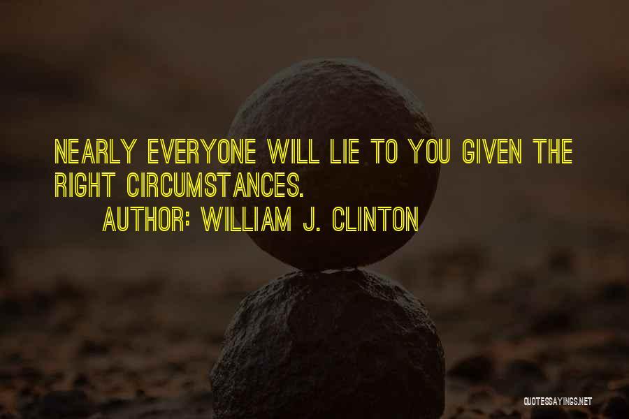 William J. Clinton Quotes 1252551