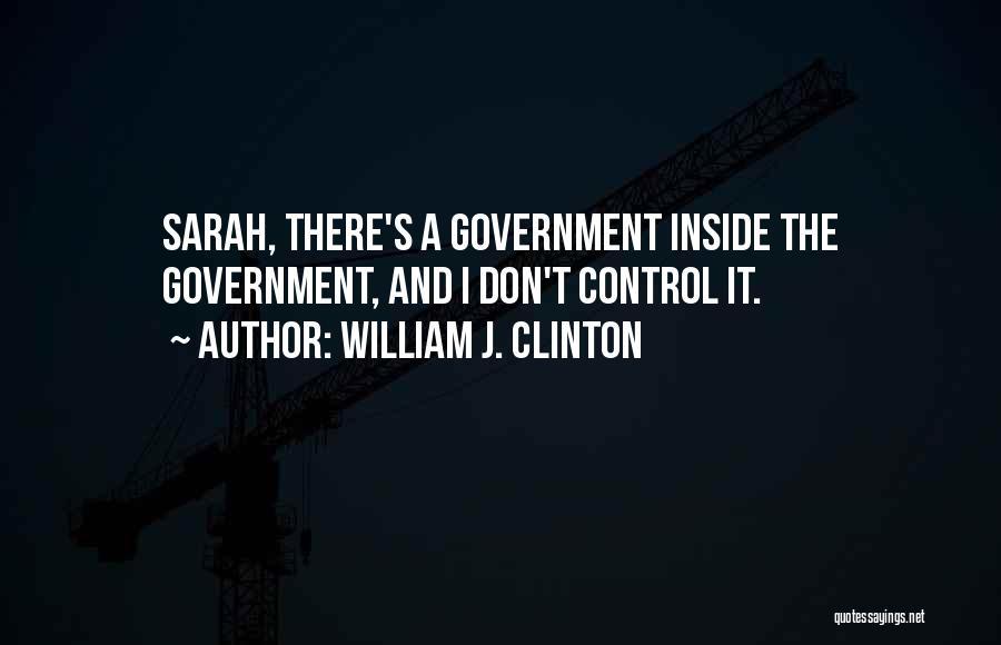 William J. Clinton Quotes 1252822