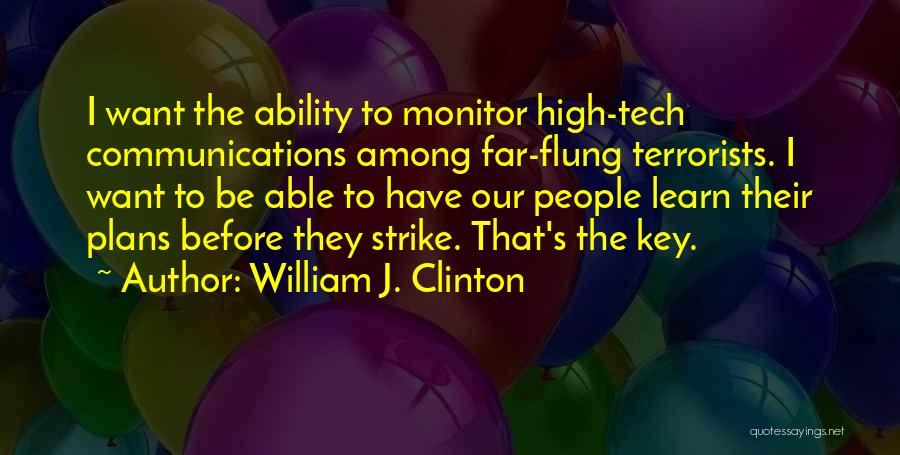 William J. Clinton Quotes 1751579