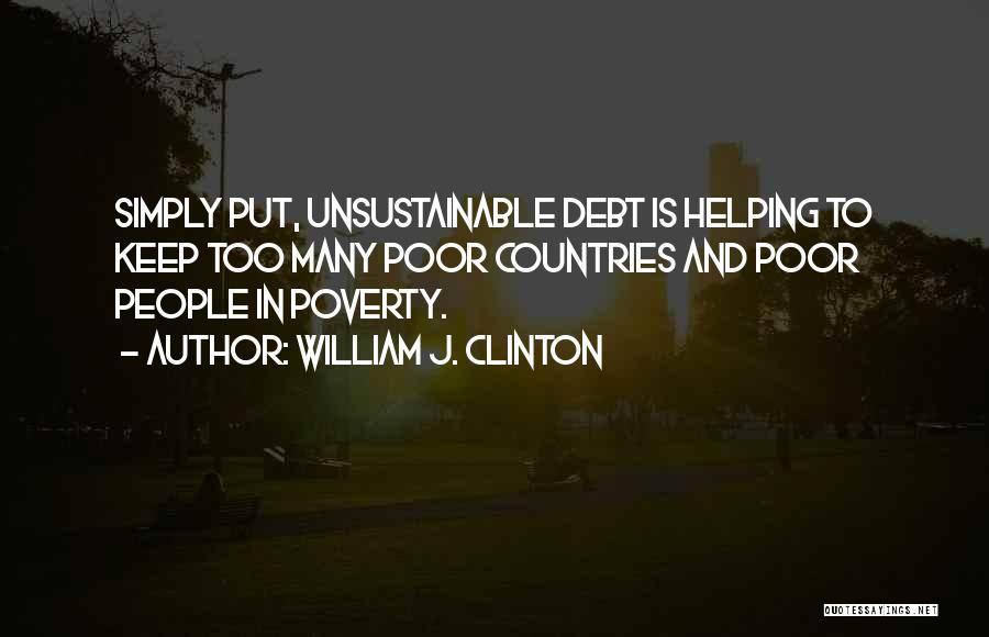 William J. Clinton Quotes 1945496