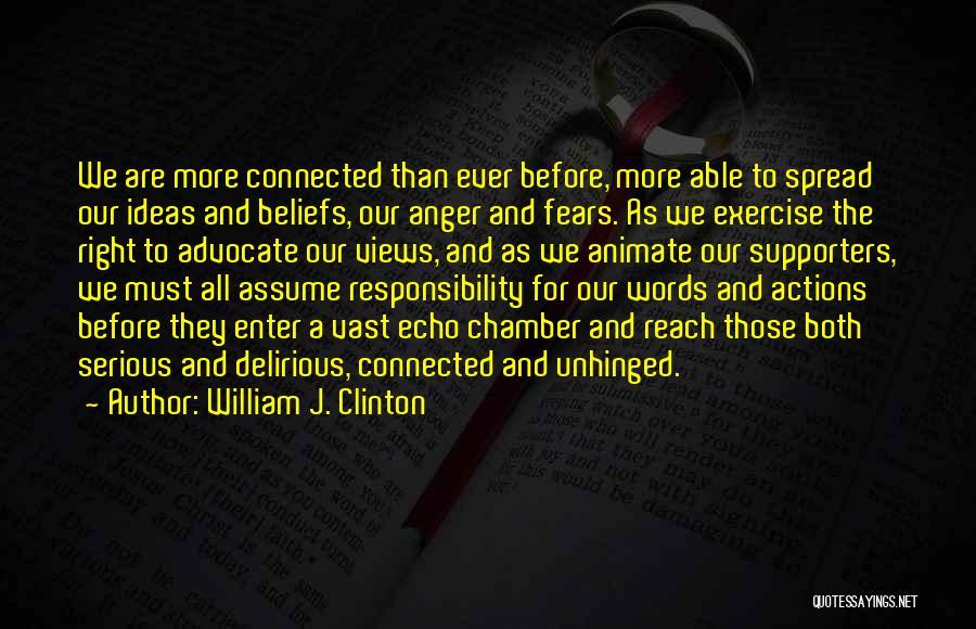 William J. Clinton Quotes 2016807