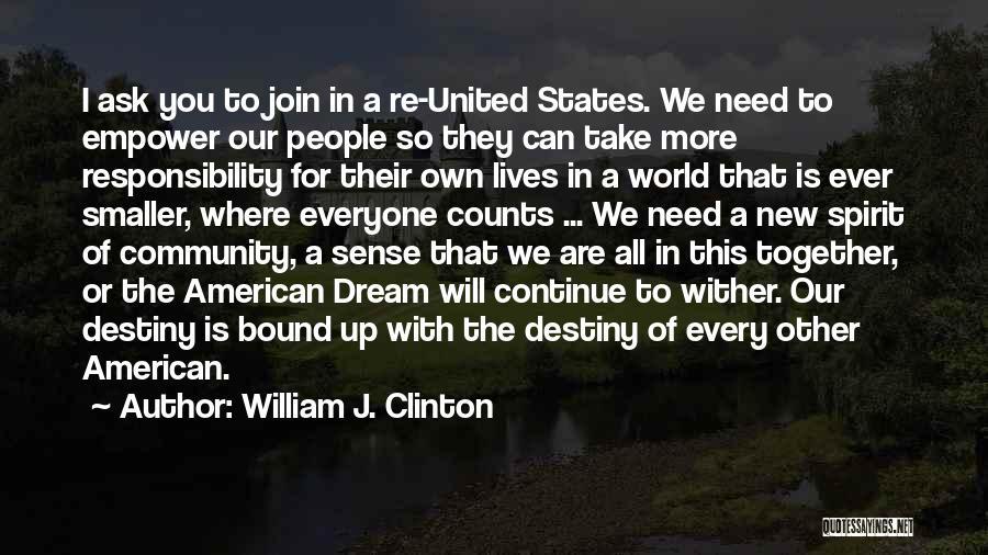William J. Clinton Quotes 293860