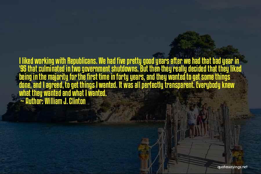 William J. Clinton Quotes 476691