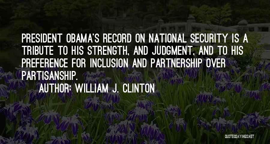 William J. Clinton Quotes 486110