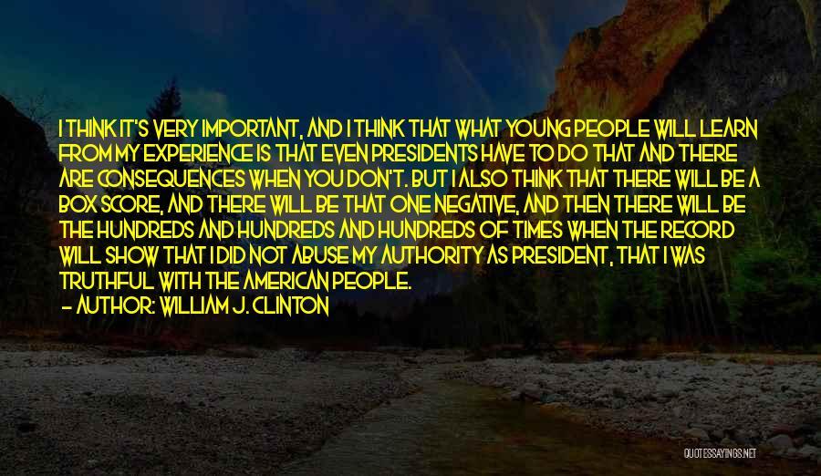 William J. Clinton Quotes 795551